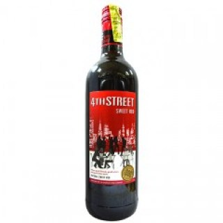 4th Street Red Wine 750ML