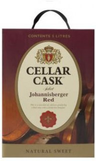 CELLAR CASK JHB SWEET RED 5 LTRS