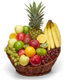 Bianka Fruit Basket